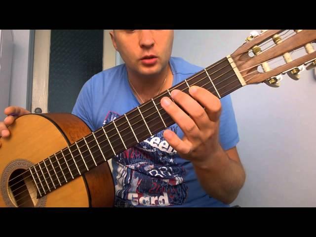 Уроки гитары.Блюз-роковый риф