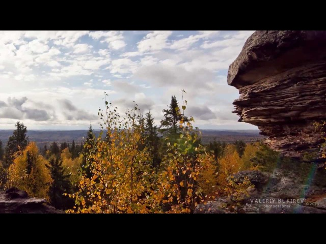 Каменный город с Усьва Time lapse