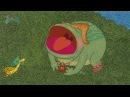 Гора самоцветов Лягушка и муравьи The frog and the ants Алтайская сказка