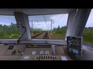 Trainz 2012 - Бирюлево Пасс - Павеелецкий вокзал