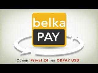 Обмен с платежной системы обмен Privat 24 на OKPAY USD (обмен Приват 24 на OKPAY USD)