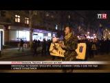 ПН TV: В Николаеве помянули героев Крут факельным шествием