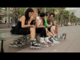 POWERSLIDE Phuzion 2011 Inlineskates Line - Cruising the Barcelona streets