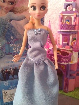Моя Эльза (подделка), платье шила сама.