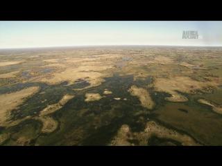 В дебрях Африки 01 Окаванго - Вода в пустыне