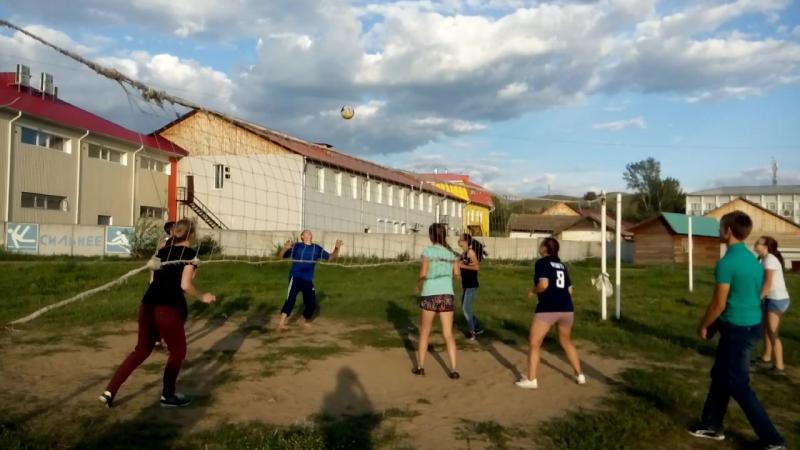 2 августа Бичура Волейбол на стадионе