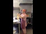 Как мы готовим лепешку для пиццы