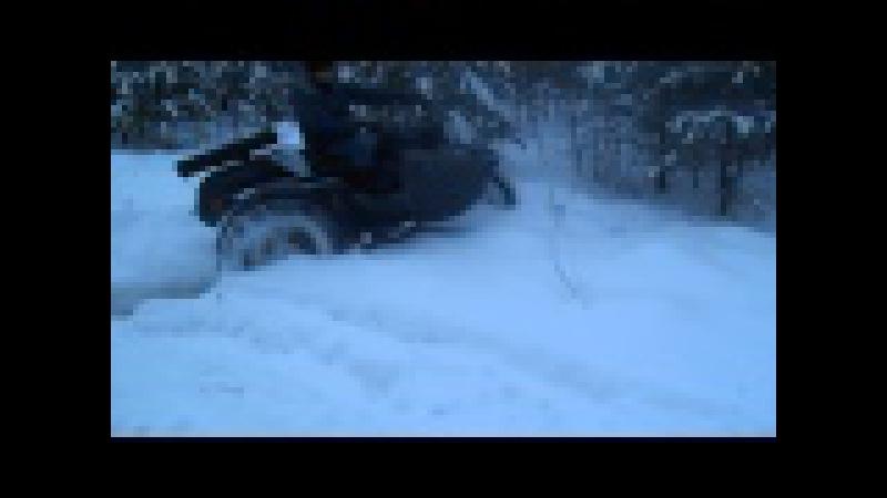 Мега Дрифт на мотоцикле урал 2WD (полноприводный)