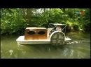 Einfach Genial mit Lütt Hütt unterwegs zum Bootsurlaub auf dem Tretboot