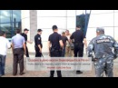 Полиция Киева и бомж