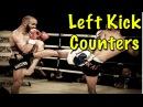 6 Left Roundhouse Kick Counters - Muay Thai Techniques