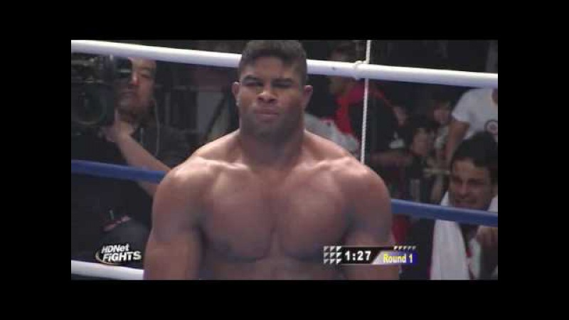 Badr Hari vs Alistair Overeem K1 Semi-finals 2009 WGP