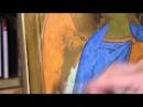 Dipingere l'icona di un Angelo: 8.0 - Decorazioni in oro zecchino (assist)