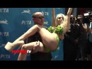 Courtney Stodden and Doug Hutchison Love and Affection at PETA Veggie Dogs Event