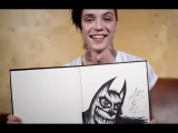 Arts &amp Chats Andy Biersack of Black Veil Brides draws and talks fan expectations and rock stars