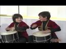 Кавказский Юмор Маленькие барабанщики ансамбля Эрисиони
