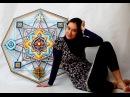Мастер класс по плетению мандалы Ojo de Dios от Юлии Казариной