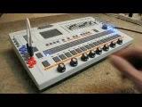 Roland TR 707 drum machine (Diabolical Modified) 2008