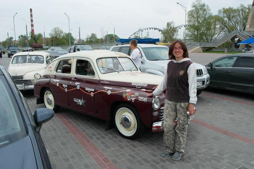 "Участники ретро-автопробега на ""Победах"" посетили крепость"