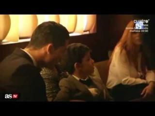 El hijo de Cristiano Ronaldo es fan de Messi: