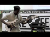 Tosin Abasi - Axe Fest West Coast 2012 performance and discussion.