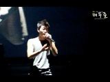 [FANCAM] #239 Doo Joons muscles @  Welcome Back to BEAST Airline 110218-19