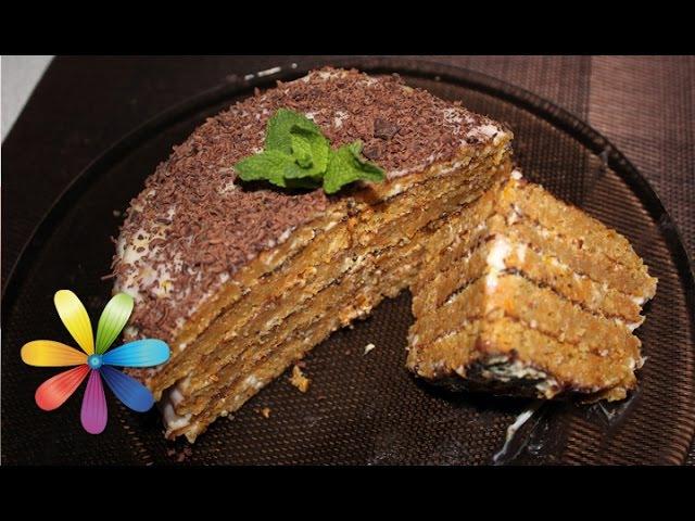 Полезный морковно яблочный торт из геркулеса Все буде добре Выпуск 639 22 07 15