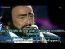 Luciano Pavarotti James Brown It's A Man's World subtitulos en español