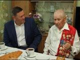 Олег Кувшинников  встретился с участником битвы на Курской дуге Алексеем Александровичем Перминовым