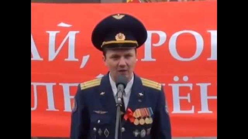 Русский Офицер - Настоящий мужик! Шокирующая смелость!