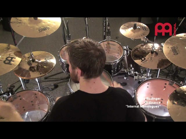 Alex Rudinger - Meinl Cymbals - Classics Custom Extreme Metal Series Promo for NAMM 2012