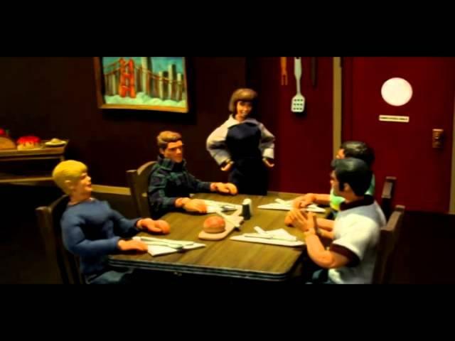 Робоцып Пиво и трех новых друзей