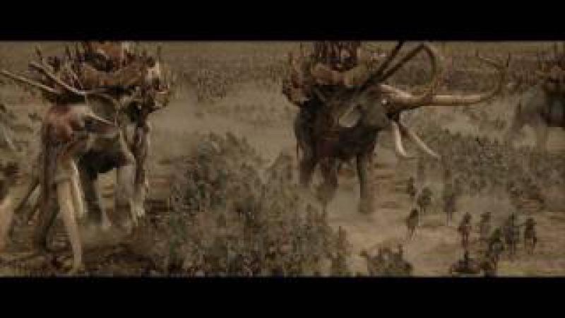 LOTR The Return of the King - Mumakil, Haradrim Rohirrim
