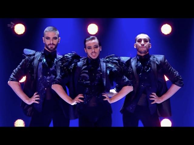 Yanis Marshall, Arnaud Mehdi. Britains Got Talent Semi Final Performance GAYEST Medley ever!