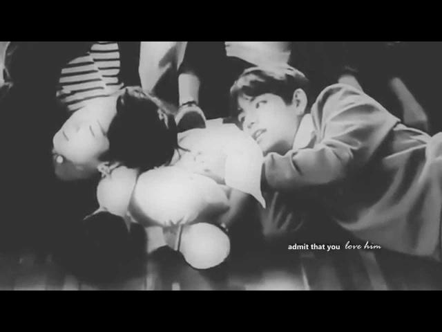 Vkook   admit that you love him