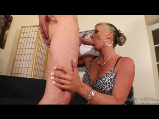 ▶ mom blonde celine noiret is sucking a cock, порно, porn, mature