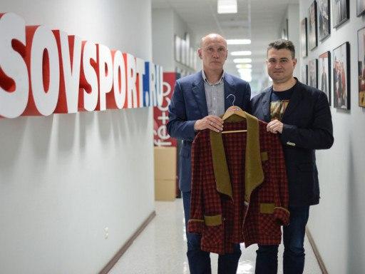 Пиджак Николая Петровича Старостина передан в музей «Спартака»