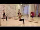 Дарья Чеботова exotic pole dance