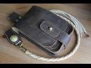 Making a leather waist bag