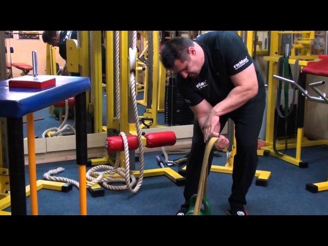 Тренировка супинатора ч 1 Training of Armwrestling Supinator
