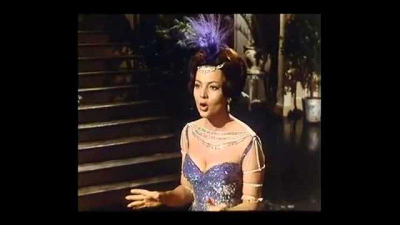 Подари мне лишь ночь одну - Сара Мотьель (к-ф Королева Шантеклера Испания 1962 г.)