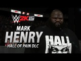 WWE 2K15 Mark Henry Entrance (All 8 DLC Attires!) (Hall of Pain DLC)