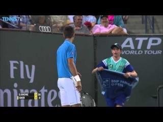 Indian Wells 2015 Wednesday Hot Shot Djokovic