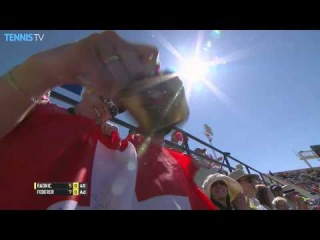 Indian Wells 2015 Saturday Hot Shot Federer