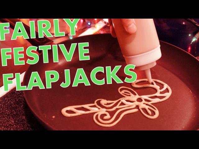 Fairly festive flapjacks (Christmas pancakes)