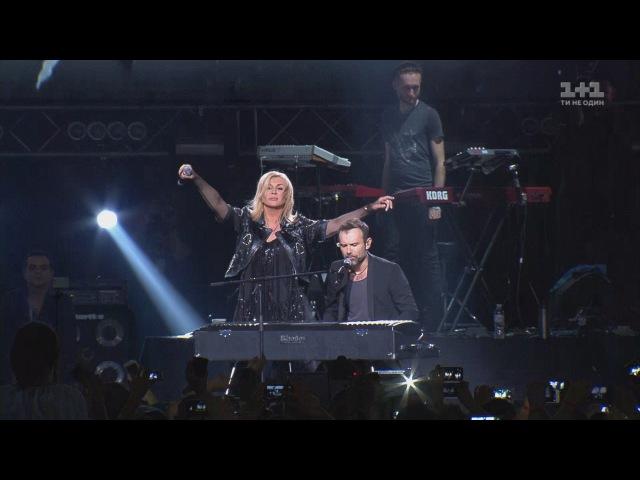 Ірина Білик і Святослав Вакарчук Мовчати Скрябін Концерт пам'яті