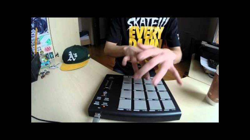 Beatcase - Falling Over (Akai MPD18 Live)