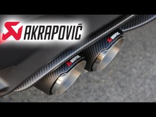 Новый выхлоп от Akrapovic BMW M4