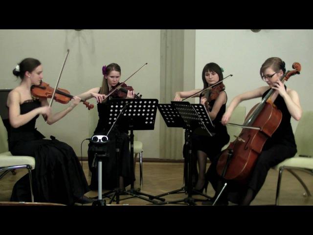 Fleur de Lys Quartet - C.Gardel Por una Cabeza