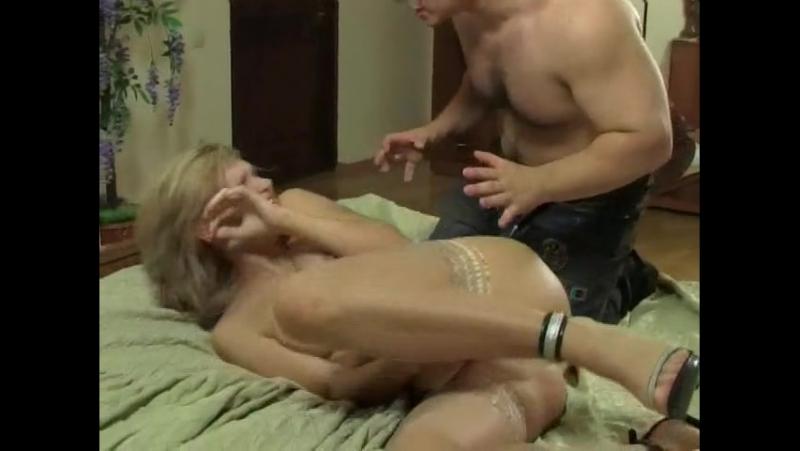 Жестко изнасиловал подругу своей мамы (mature, MILF, BBW, мамки порно  со зрелыми женщинами)(hotmoms 18plus)